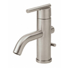 Danze Parma Brushed Nickel 1-Handle Single Hole WaterSense Bathroom Sink Faucet (Drain Included)