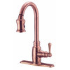 Danze Opulence Antique Copper 1-Handle Pull-Down Kitchen Faucet