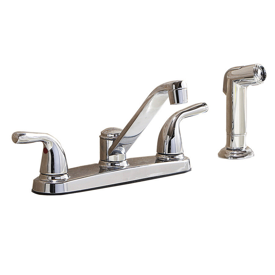 Shop Project Source Chrome Low Arc Kitchen Faucet With