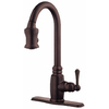 Danze Opulence Oil-Rubbed Bronze 1-Handle Pull-Down Kitchen Faucet