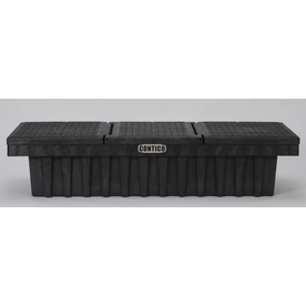 CONTICO 71-in Black Plastic Truck Tool Box