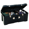 CONTICO Contico 23-Gallon Black Plastic Storage Trunk