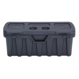 CONTICO Black Plastic Storage Trunk