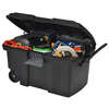 CONTICO Contico 41-Gallon Black Tote with Latching Lid