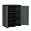 CONTICO 26.8-in W x 34.25-in H x 15.4-in D Plastic Freestanding Garage Cabinet