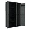 CONTICO 40-in W x 65-in H x 15.4-in D Plastic Freestanding Garage Cabinet