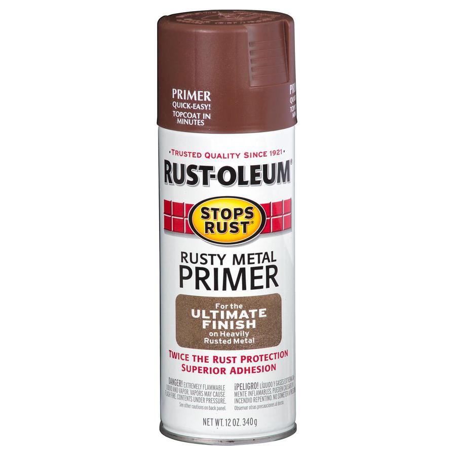 Shop Rust Oleum 12 Oz Rusty Metal Flat Spray Paint At