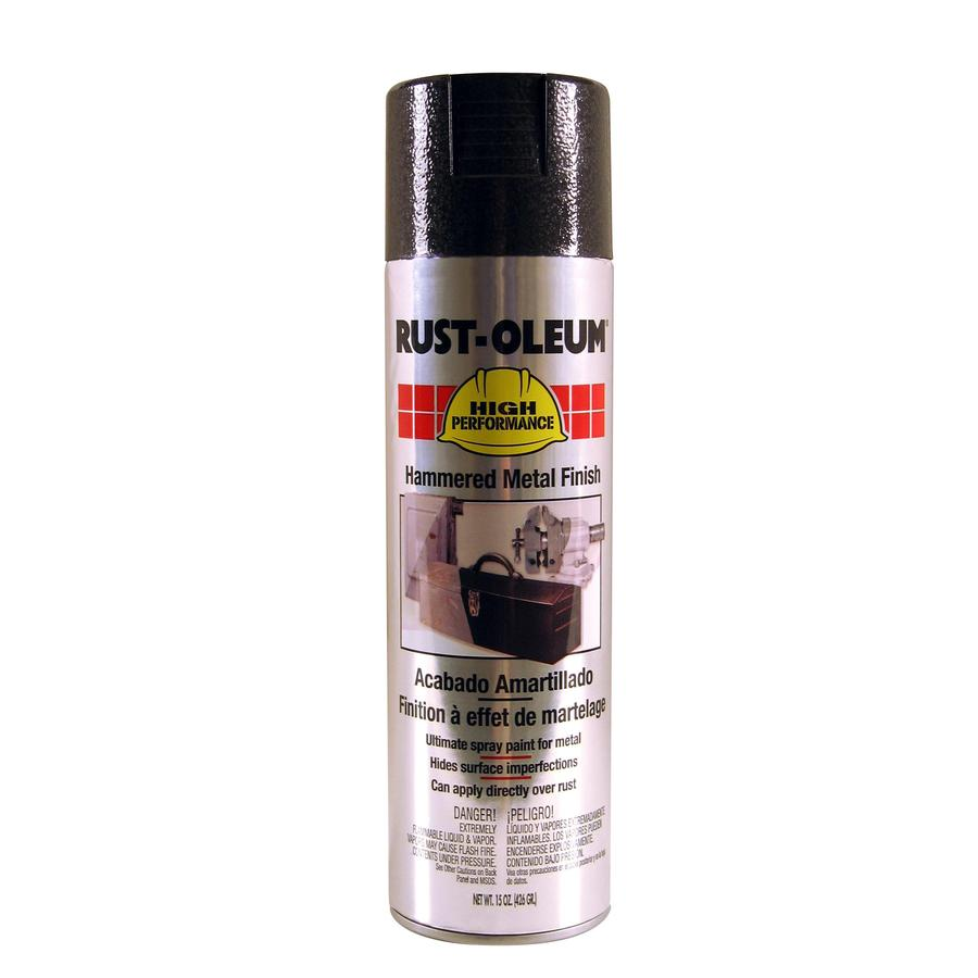 Shop Rust Oleum 15 Oz Black Gloss Spray Paint At