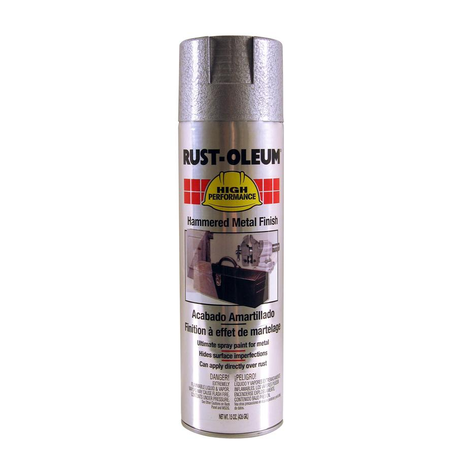 Shop Rust Oleum 15 Oz Silver Gloss Spray Paint At