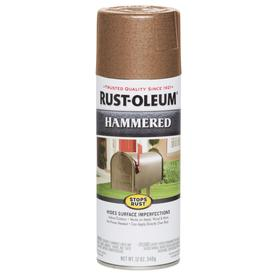 Rust-Oleum Stops Rust Copper Hammered Rust Resistant Enamel Spray Paint (Actual Net Contents: 12-oz)