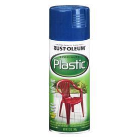 Rust-Oleum Specialty Plastic Sail Blue Fade Resistant Spray Paint (Actual Net Contents: 12-oz)