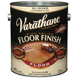 Shop varathane floor 128 fl oz clear oil based interior for Oil based floor stain