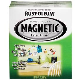 Rust-Oleum Black Flat Water-Based Interior Paint and Primer in One (Actual Net Contents: 32-fl oz)