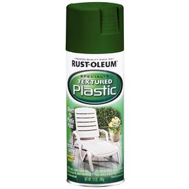 Rust-Oleum Specialty Specialty Plastic Forest Green Textured Fade Resistant Spray Paint (Actual Net Contents: 12-oz)