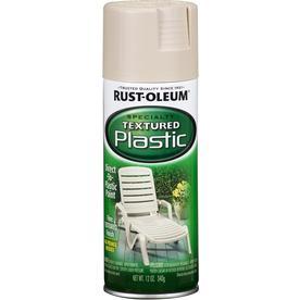 Rust-Oleum Specialty Specialty Plastic Sandstone Textured Fade Resistant Spray Paint (Actual Net Contents: 12-oz)