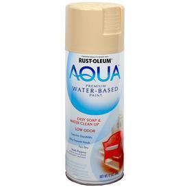 Rust-Oleum Aqua 12-oz Oyster Gloss Spray Paint
