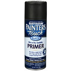 Rust-Oleum 12-oz Black Primer Flat Spray Paint