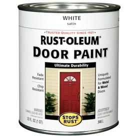 Rust-Oleum Alkyd Enamel Stops Rust White Gloss Oil-Based Enamel Interior/Exterior Paint (Actual Net Contents: 32-fl oz)