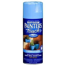Rust-Oleum 12 oz Caribbean Blue Gloss Spray Paint