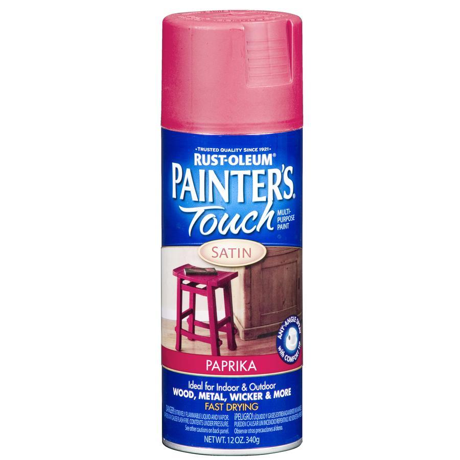 Shop Rust Oleum 12 Oz Paprika Satin Spray Paint At