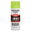 Rust-Oleum Industrial Choice Multi-Purpose Fluorescent Yellow Fade Resistant Enamel Spray Paint (Actual Net Contents: 12-oz)