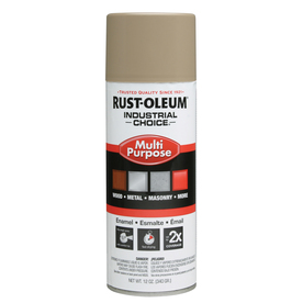 Shop Rust Oleum 12 Oz Beige Gloss Spray Paint At