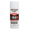 Rust-Oleum 12 Oz. White Flat Spray Paint