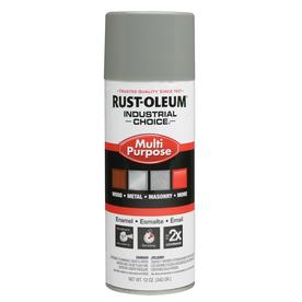 Rust-Oleum Industrial Choice Multi-Purpose Dove Gray Fade Resistant Enamel Spray Paint (Actual Net Contents: 12-oz)