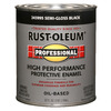 Rust-Oleum Professional High Performance Black Oil-Based Enamel Interior/Exterior Paint (Actual Net Contents: 32-fl oz)