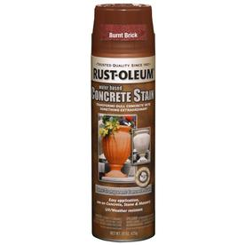 shop rust oleum 15 oz burnt brick flat spray paint at. Black Bedroom Furniture Sets. Home Design Ideas