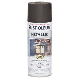 Rust-Oleum Stops Rust Metallic Oil Rubbed Bronze Indoor/Outdoor Spray Paint