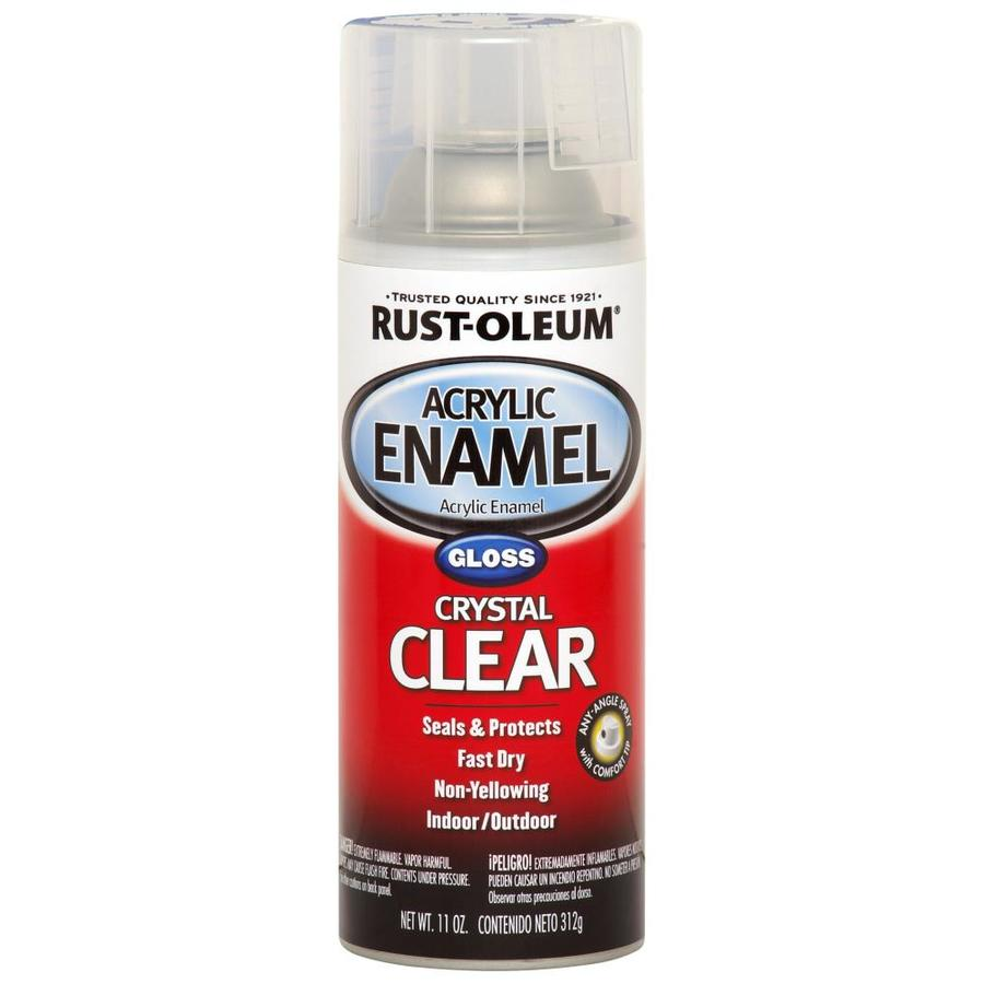 shop rust oleum 12 oz clear gloss spray paint at. Black Bedroom Furniture Sets. Home Design Ideas