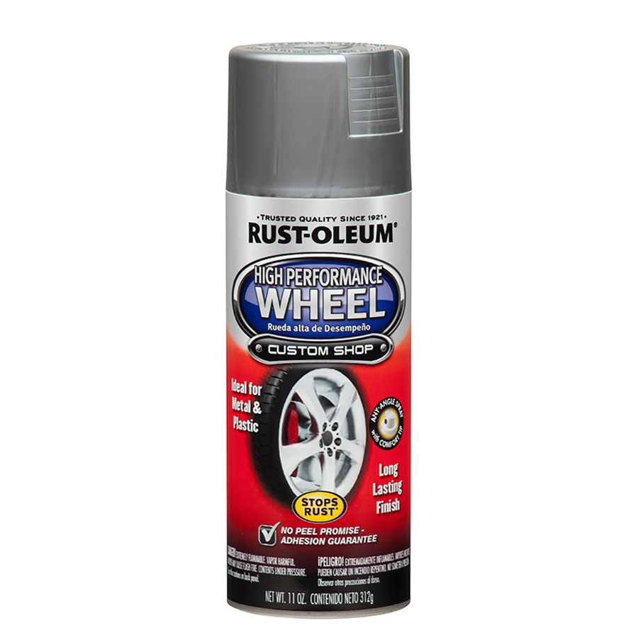 Shop Rust Oleum 11 Oz Silver High Gloss Spray Paint At