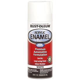 Rust-Oleum Automotive White Fade Resistant Enamel Spray Paint (Actual Net Contents: 12-oz)
