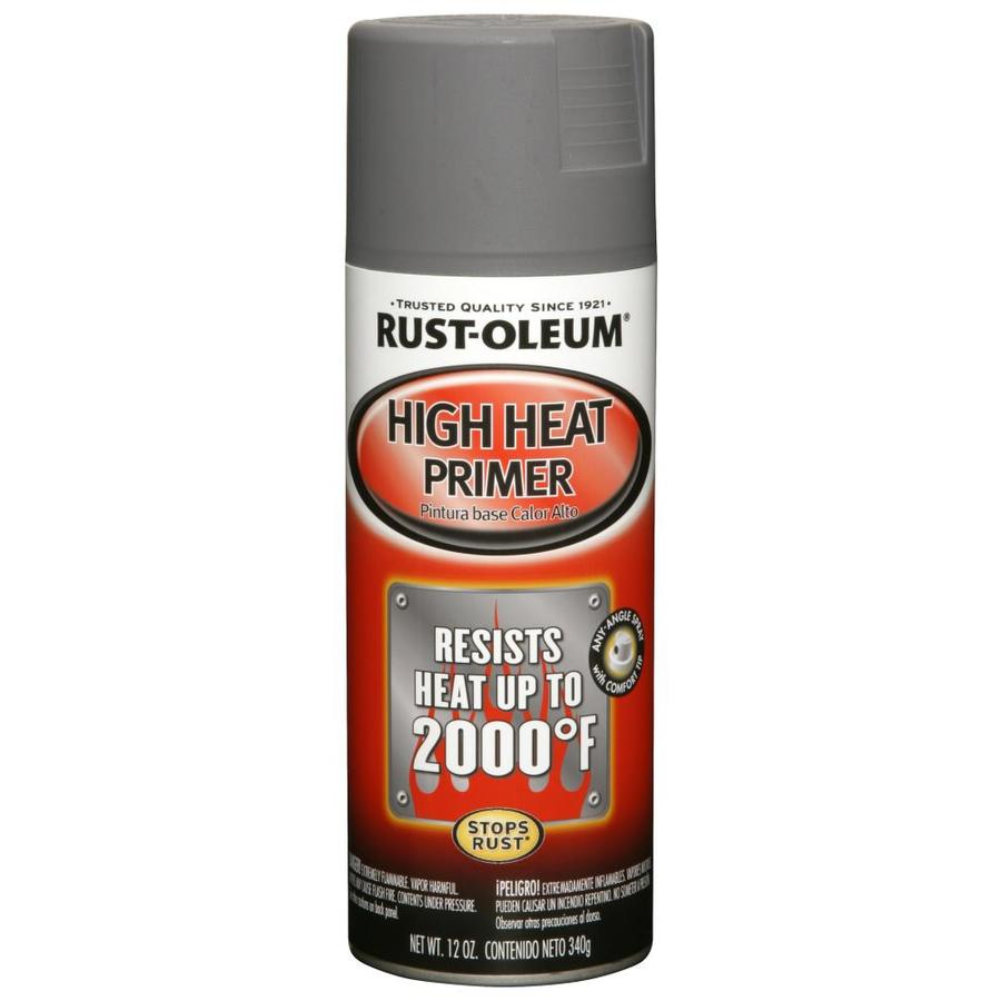 Shop Rust-Oleum 12-oz Gray Flat Spray Paint at Lowes.com