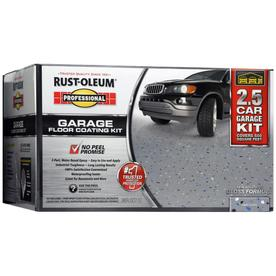 Rust-Oleum Professional High Performance 2-Part Gray Gloss Garage Floor Epoxy (Actual Net Contents: 320-fl oz)