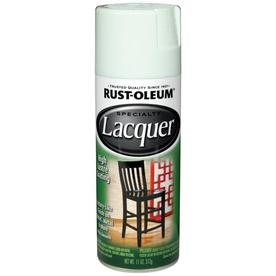 Rust-Oleum 11 Oz. White High-Gloss Spray Lacquer