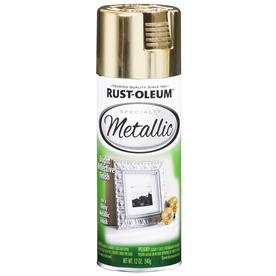 Rust-Oleum Specialty Metallic Gold Metallic Fade Resistant Spray Paint (Actual Net Contents: 11-oz)