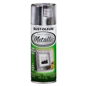 Rust-Oleum Specialty Metallic Silver Metallic Fade Resistant Spray Paint (Actual Net Contents: 11-oz)