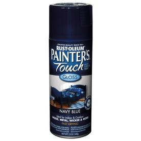 Rust-Oleum 12 Oz. Navy Blue Gloss Spray Paint