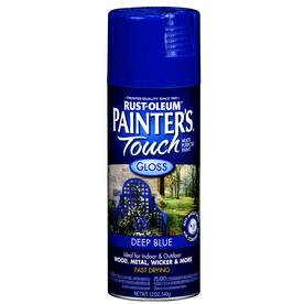 Rust-Oleum 12 Oz. Deep Blue Gloss Spray Paint