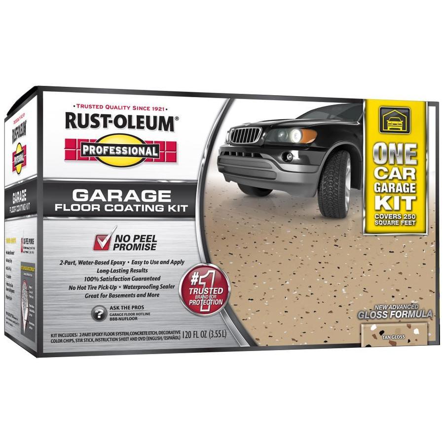 Shop Rust Oleum Professional Kit Interior Gloss Garage