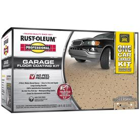Rust-Oleum Professional High Performance 2-Part Tan Gloss Garage Floor Epoxy (Actual Net Contents: 128-fl oz)