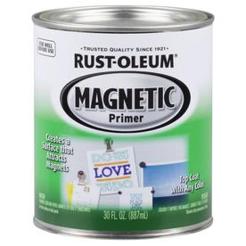 Rust-Oleum Magnetic Specialty Black Flat Oil-Based Enamel Interior Paint (Actual Net Contents: 30-fl oz)
