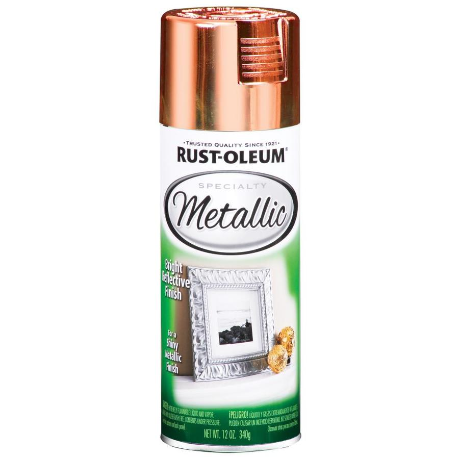 Shop Rust Oleum 11 Oz Metallic Copper Spray Paint At