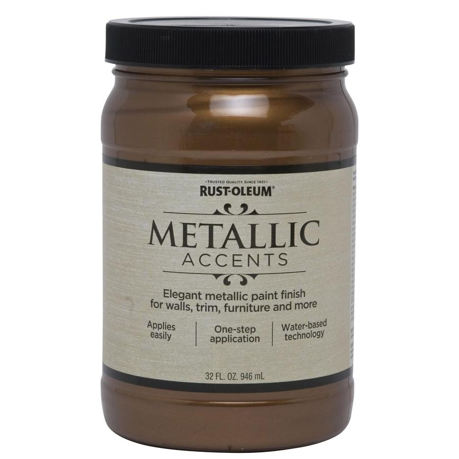 Copper Metallic Latex Paint