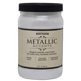 Rust-Oleum Quart Interior/Exterior Gloss White Paint