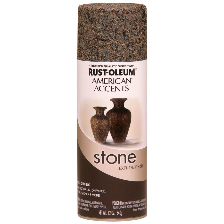 shop rust oleum 12 oz granite stone spray paint at. Black Bedroom Furniture Sets. Home Design Ideas