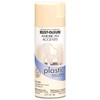 Rust-Oleum 12 Oz. Shell White Gloss Spray Paint