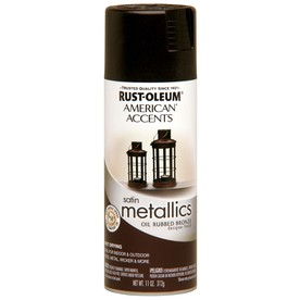 shop rust oleum 11 oz oil rubbed bronze high gloss spray paint at. Black Bedroom Furniture Sets. Home Design Ideas